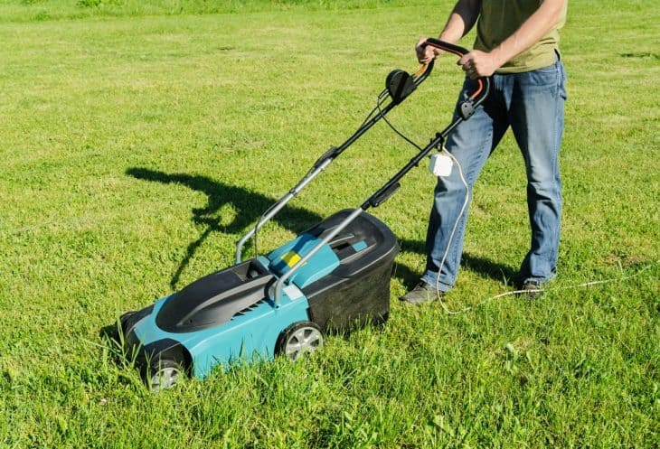 corded electric lawn mowers for small yards