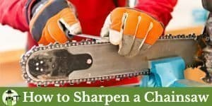 how to sharpen a chainsaw featured