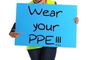 wear your ppe