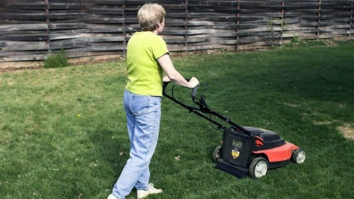 medium battery powered lawn mowers