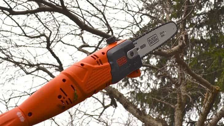 black and decker pole chainsaw review