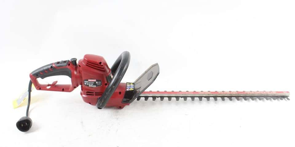 craftsman hedge trimmer review