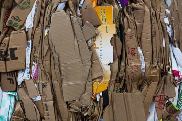will a wood chipper shred cardboard