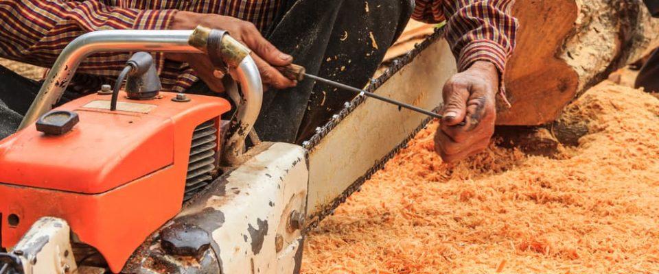 when to sharpen chainsaw